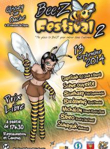 Affiche BeeZ Festival 2014-Final