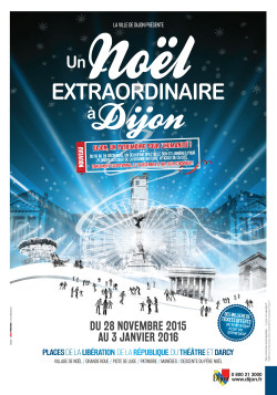 Affiche - Un Noël extraordinaire à Dijon